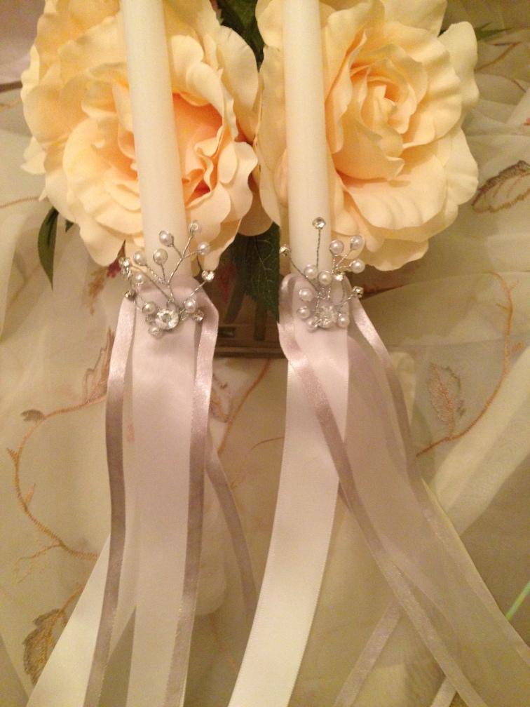 Greek Wedding Candles